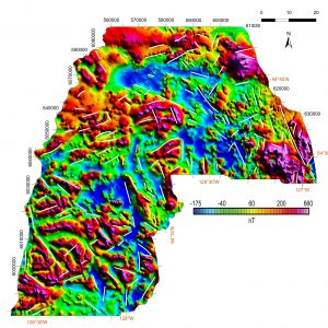 Extracting Geological Value from SeArch Airborne Magnetic Data